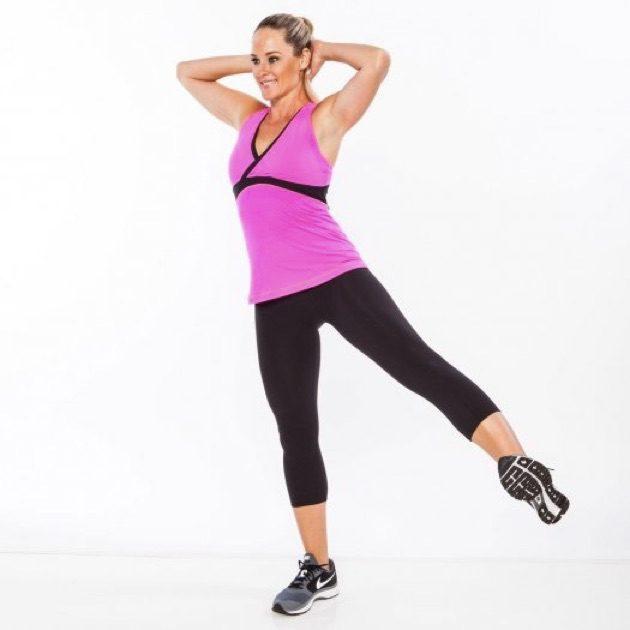 Упражнения для ягодиц: отведение ноги