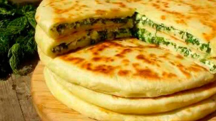 """Результат пошуку зображень за запитом """"Хачапури с сыром и зеленью"""""""
